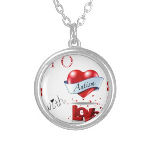 To Autism WIth Love Logo Necklace