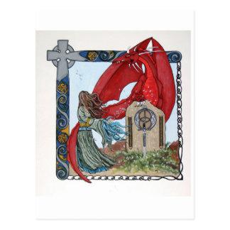To Awaken A King Postcard