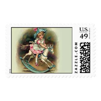 To Banbury Cross Postage Stamp