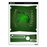 To Battle Gold Spartan Warrior Green Xbox Skin Xbox 360 S Console Skins