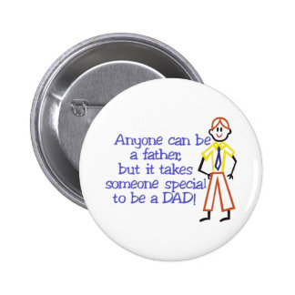 To Be A Dad 2 Inch Round Button