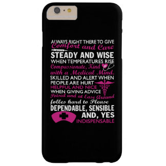 To be a Nurse Barely There iPhone 6 Plus Case