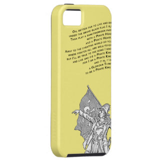 To be a Pirate King iPhone SE/5/5s Case