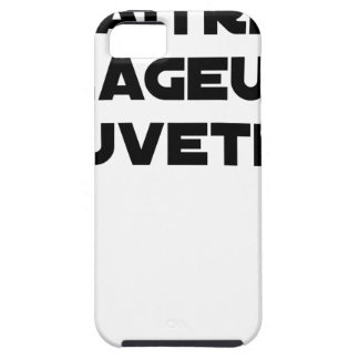 TO BE BORN ANGRY RESCUER - Word games iPhone SE/5/5s Case