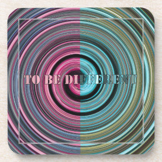 To Be Different Drink Coasters