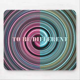 To Be Different Mouse Pad
