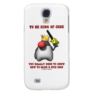To Be King Of Code You Really Need To Know How To Galaxy S4 Case