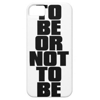 TO BE OR NOT TO BE iPhone SE/5/5s CASE