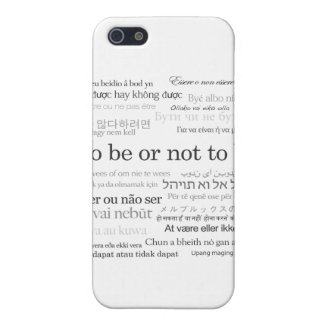 To Be Or Not To Be Shakespeare Hamlet iPhone Case