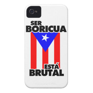 To be Puerto Rican this Brutal one Case-Mate iPhone 4 Case