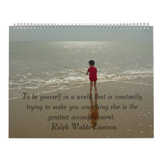 To Be Yourself Calendar