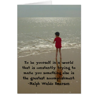 To Be Yourself Card