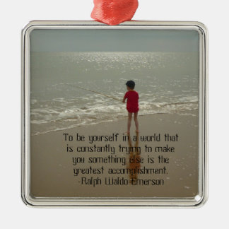 To Be Yourself Ornament