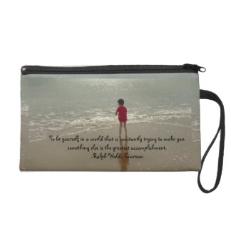 To Be Yourself Wristlet