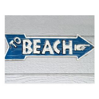 To Beach Post Cards