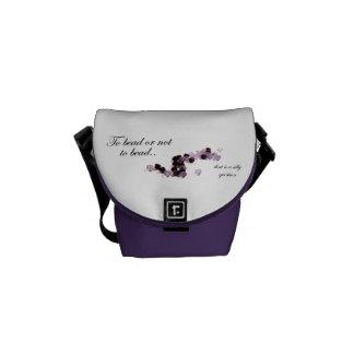 To bead or not to bead Rickshaw Mini Messenger Bag