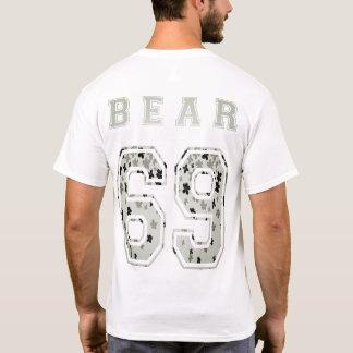 to bear 6 9 cherry tree flower back T-Shirt