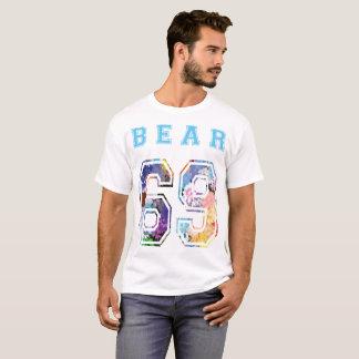 to bear 6 9 flowers blue T-Shirt