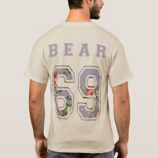to bear 6 9 flowers mulberry back T-Shirt