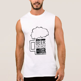To Beer 01 • Men's Ultra Cotton Sleeveless T-Shirt