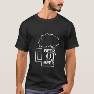 To Beer 03 • Basic Dark T-Shirt