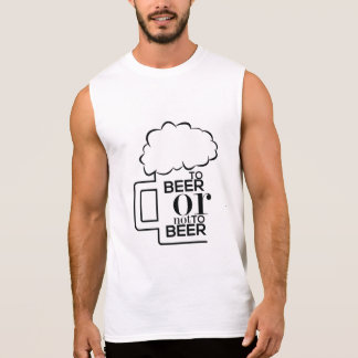 To Beer 03 • Men's Ultra Cotton Sleeveless T-Shirt