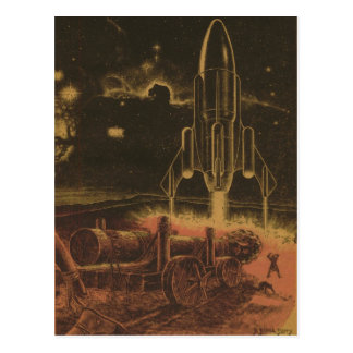 To Boldly Go Postcard