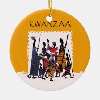 To Celebrate Kwanzaa Holiday Ornament