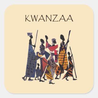 To Celebrate Kwanzaa Holiday Sticker