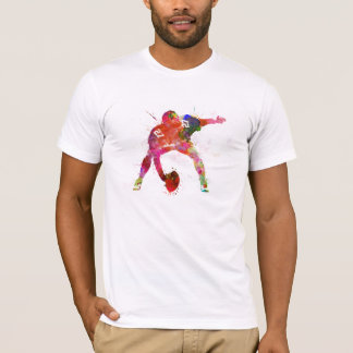 to center they american football to player man T-Shirt