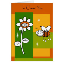 """To Cheer You"" Encouragement Card"