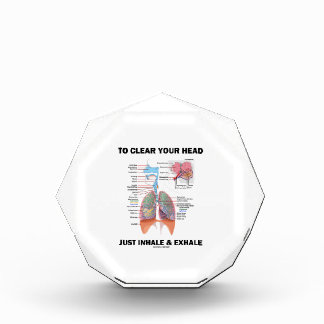 To Clear Your Head Just Inhale & Exhale (Respire) Award
