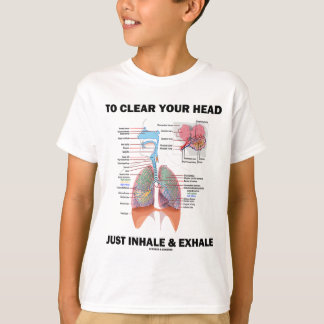To Clear Your Head Just Inhale & Exhale T-Shirt