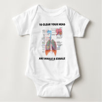 To Clear Your Head Just Inhale & Exhale T Shirts