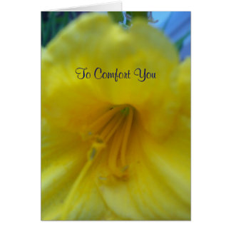 To Comfort You DL Greeting Card
