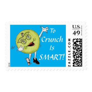To Crunch Is SMART First Class Stamps