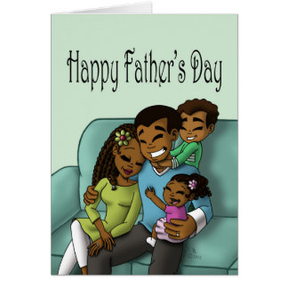 """""""To Dad From Us"""" Card"""