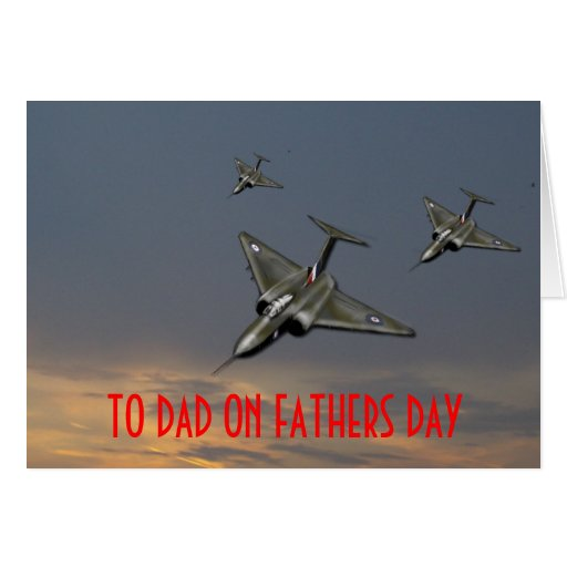 TO DAD ON FATHERS DAY GREETING CARDS