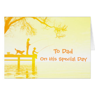 To Dad on his Special Day card
