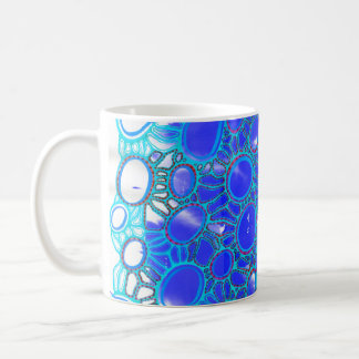 To dawn blue coffee mug