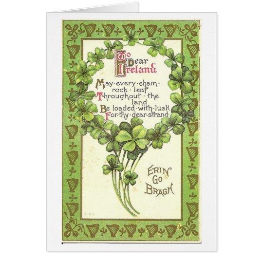 To Dear Ireland Card