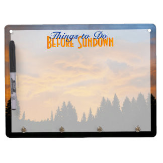 To Do Before Sundown Dry-Erase Boards