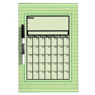 To Do Calendar Dry Erase Board