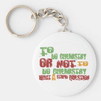To Do Chemistry Keychain