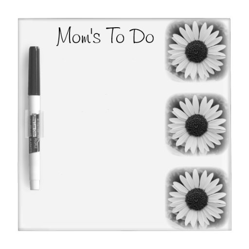 To Do Flower Board Dry Erase Whiteboards