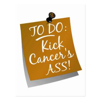 To Do - Kick Cancer's Ass Appendix Postcard