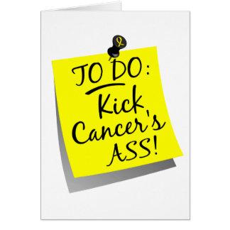 To Do - Kick Cancer's Ass Bladder Card