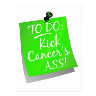To Do - Kick Cancer's Ass Lymphoma Postcard