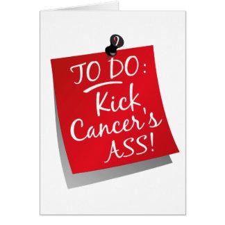To Do - Kick Cancer's Ass Oral Card