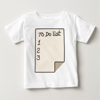To do list baby T-Shirt